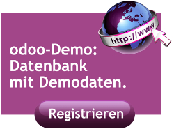 odoo Demo Datenbank